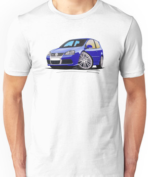VW Golf R32 (Mk5) Blue Unisex T-Shirt