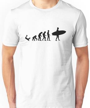 Surf evolution 3 Unisex T-Shirt
