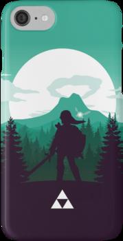 The Legend of Zelda (Green) iPhone 7 Cases