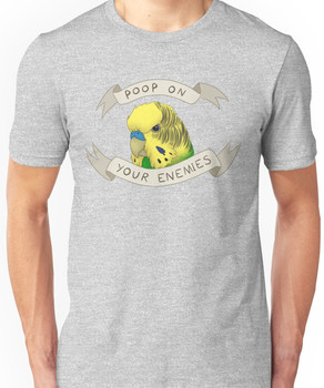 Poop On Your Enemies Unisex T-Shirt