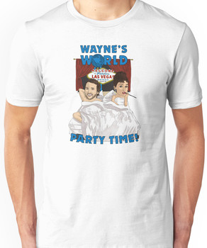 Wayne's World - Party time! Unisex T-Shirt