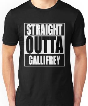 Straight OUTTA Gallifrey - Dr. Who Unisex T-Shirt