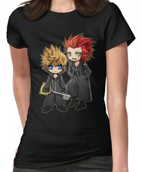 Roxas and Axel - Kingdom Hearts Women's T-Shirt