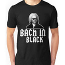 Bach in Black Unisex T-Shirt
