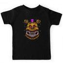 Five Nights at Freddys 4 - Nightmare Fredbear - Pixel art Kids Clothes