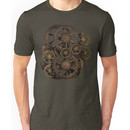 Infernal Vintage Steampunk Gears on your Gear Unisex T-Shirt