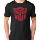 Transformers Autobots Red Unisex T-Shirt