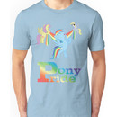 Pony Pride - with text Unisex T-Shirt