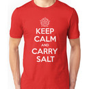 Keep Calm and Carry Salt Unisex T-Shirt