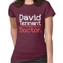 David Tennant will always be my Doctor - RED Women's T-Shirt