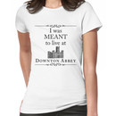 I was MEANT to live at Downton Abbey Women's T-Shirt