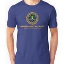 Winners Don't Eat Meat - Scott Pilgrim inspired Vegan Police Logo (transparent versio Unisex T-Shirt