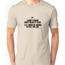 Grateful Dead Lyric -Ripple. Unisex T-Shirt