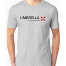 Umbrella Corps - Black text Unisex T-Shirt