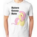 Fluttershy Haters Gonna Hate T-Shirt Unisex T-Shirt