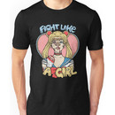 Sailor Moon- Fight Like a Girl Unisex T-Shirt