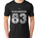 Team Sam Winchester white letters Unisex T-Shirt