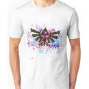 Triforce Emblem Splash Unisex T-Shirt