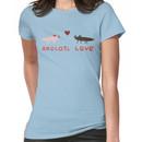 Axolotl Love Women's T-Shirt