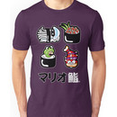 Mario Sushi Unisex T-Shirt
