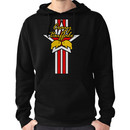 Street Fighter IV Boxer - Crazy Buffalo (Stars & Stripes) Hoodie (Pullover)
