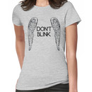 [Doctor Who] Don't Blink - Wings (Black) Women's T-Shirt