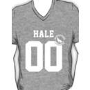 "Teen Wolf - ""HALE 00"" Lacrosse  V-Neck"