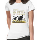 """""""It means no worries for the rest of your days. Hakuna Matata!"""" - Lion King Women's T-Shirt"""