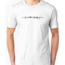 Graphic Line Grid Unisex T-Shirt