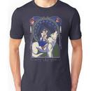 Wolf Princess Nouveau Unisex T-Shirt