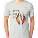 KR - Never Give Up Unisex T-Shirt