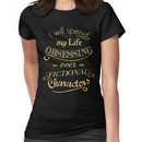 I will spend my life obsessing over fictional characters #2 Women's T-Shirt