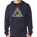 """""""Grace of the Goddesses"""" Hoodie (Pullover)"""