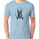 Black German Shepherd :: Its All About Me Unisex T-Shirt
