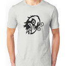 Bioshock Infinite Murder Of Crows Vigor [Black on White] Unisex T-Shirt
