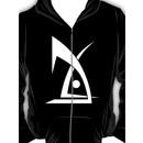 Deus EX logo no text black Hoodie (Zipper)