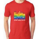 Small Gay World - Dark Background Unisex T-Shirt