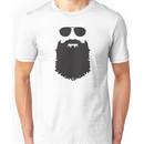 AVIATOR GLASSES AND BEARD Unisex T-Shirt