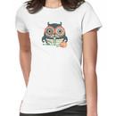 crochet hook owl paisley mustache steampunk skeleton Women's T-Shirt