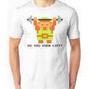 Do You Even Lift? 8-bit Link Edition v2 Unisex T-Shirt