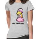 Mushroom Kingdom Couple: Peach Shirt Women's T-Shirt