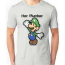 Mushroom Kingdom Couple: Luigi Shirt Unisex T-Shirt