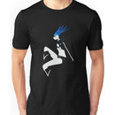 Black Rock Shooter negative space Unisex T-Shirt