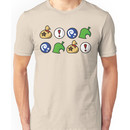 Animal Crossing Items 2 (in many colours!) Unisex T-Shirt
