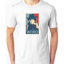 Doctor Who Tom Baker Barack Obama Hope style poster Unisex T-Shirt