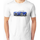 AC / Shelby Cobra Blue (White Stripes) Unisex T-Shirt