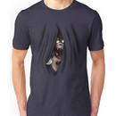 Peeking Foxy (without curtain stars) Unisex T-Shirt