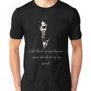 The limits of my language mean the limits of my world - Wittgenstein Unisex T-Shirt