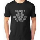 ...Full of Monsters - White Text Unisex T-Shirt
