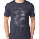 Lego Patent - Dark Background Unisex T-Shirt